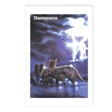 Chasmosaurus Dinosaur Postcards (Package of 8)