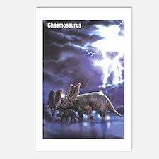 Chasmosaurus Dinosaur Postcards (Package of 8)