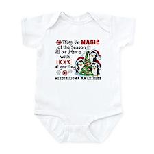 Holiday Penguins Mesothelioma Infant Bodysuit