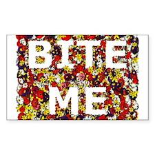 Bite Me (design) Rectangle Decal
