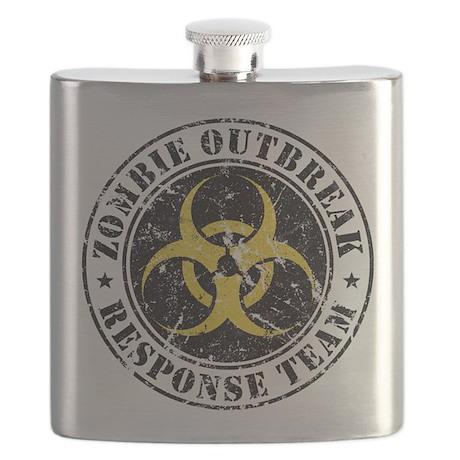 Zombie Outbreak Response Team Flask