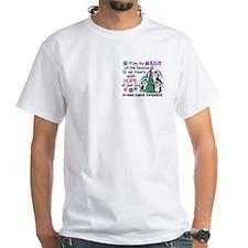 Holiday Penguins Thyroid Cancer Shirt