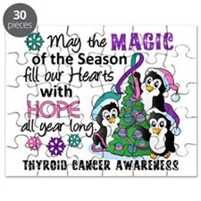 Holiday Penguins Thyroid Cancer Puzzle