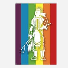 The Gay Indian Postcards (Package of 8)