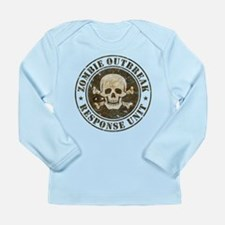 Zombie Outbreak Response Unit Long Sleeve Infant T
