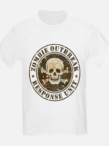 Zombie Outbreak Response Unit T-Shirt