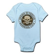 Zombie Outbreak Response Unit Infant Bodysuit