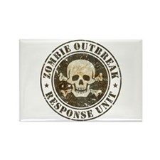 Zombie Outbreak Response Unit Rectangle Magnet (10
