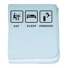 Parkour baby blanket