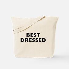 Best Dressed Tote Bag