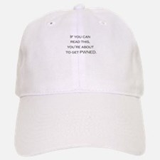 You're about to get PWNED! Baseball Baseball Cap