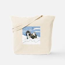 Shih Tzu Christmas Holiday Angi Tote Bag