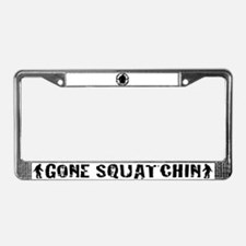 Believe in the Sqautch License Plate Frame