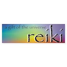 Reiki Universal Gift Bumper Car Sticker