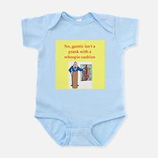med school joke Infant Bodysuit