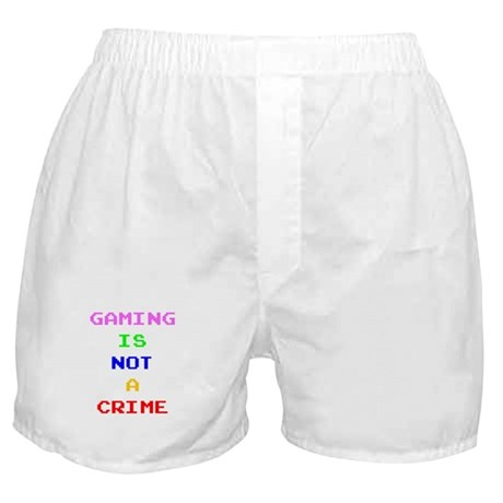 Gaming is not a crime Boxer Shorts