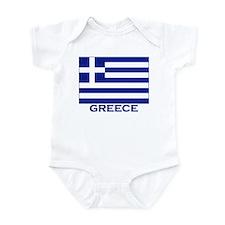 Flag of Greece Infant Bodysuit