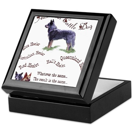 Austalian Cattle Dog Keepsake Box