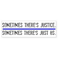 Justice Car Sticker