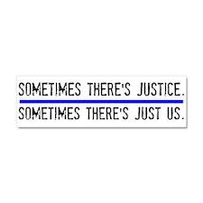 Justice Car Magnet 10 x 3