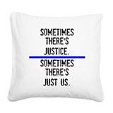 Justice police Throw Pillows