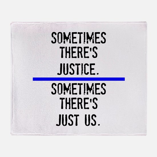 Justice Throw Blanket