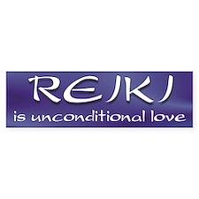 Unconditional Love Bumper Car Sticker