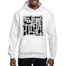 Crossword Puzzle Hoodie