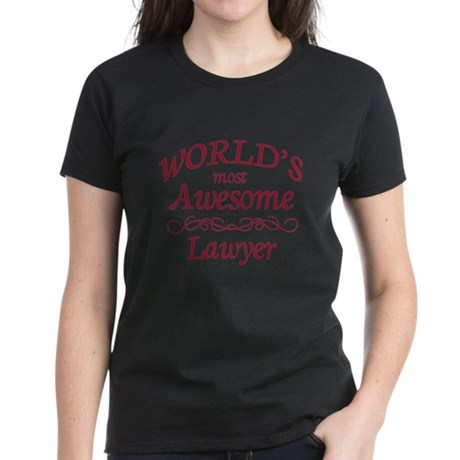 Awesome Lawyer Women's Dark T-Shirt