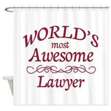 Awesome Lawyer Shower Curtain