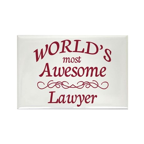 Awesome Lawyer Rectangle Magnet