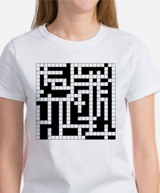 Crossword Puzzle Tee
