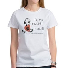 Pets Fight Too Tee