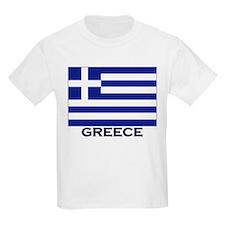Greece Flag Gear Kids T-Shirt