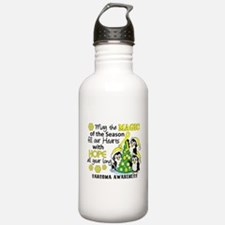 Holiday Penguins Sarcoma Water Bottle