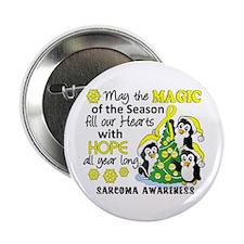 "Holiday Penguins Sarcoma 2.25"" Button"