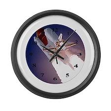 Unique Apollo rocket Large Wall Clock