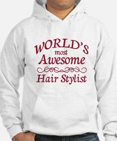 Awesome Hair Stylist Hoodie