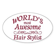 Awesome Hair Stylist Decal
