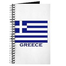 Greece Flag Merchandise Journal