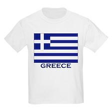 Greece Flag Merchandise Kids T-Shirt