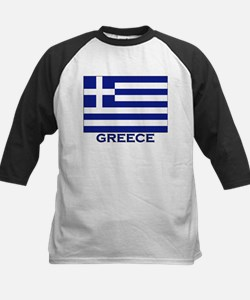 Greece Flag Merchandise Tee