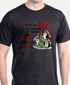 Holiday Penguins Stroke T-Shirt