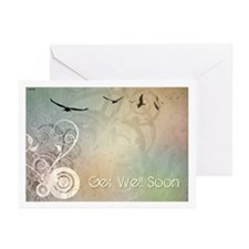 Get Well Soon Greeting Cards (Pk of 20)