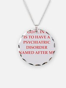 psych joke Necklace