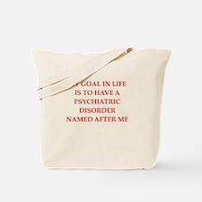 psych joke Tote Bag