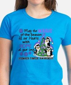Holiday Penguins Stomach Cancer Tee