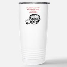 psych joke Stainless Steel Travel Mug