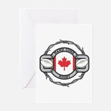 Canada Rugby Greeting Cards (Pk of 10)