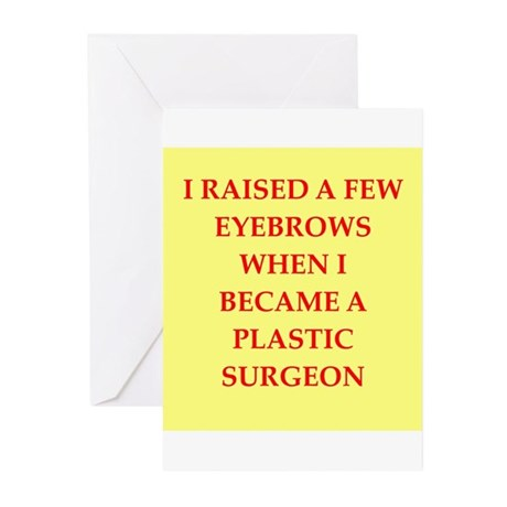 plastic surgeon Greeting Cards (Pk of 10)